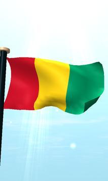 Guinea Flag 3D Free Wallpaper screenshot 4