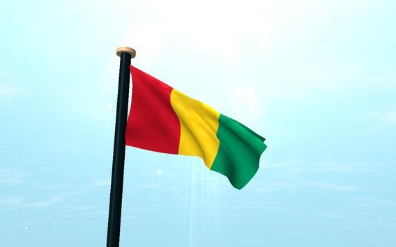 Guinea Flag 3D Free Wallpaper screenshot 6