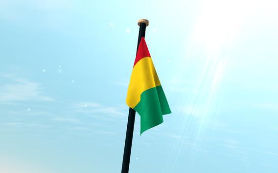 Guinea Flag 3D Free Wallpaper screenshot 7
