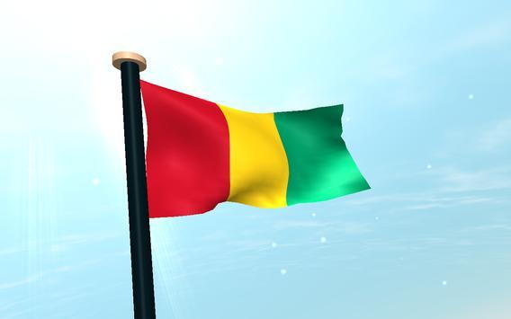 Guinea Flag 3D Free Wallpaper screenshot 8
