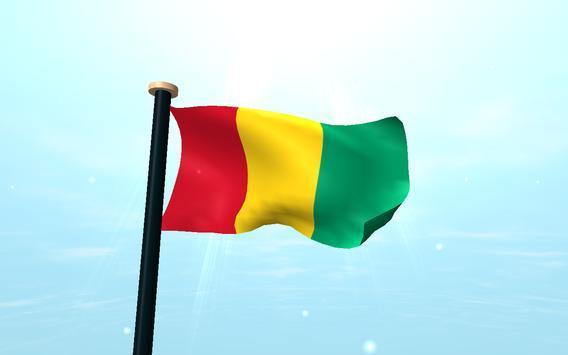 Guinea Flag 3D Free Wallpaper screenshot 9