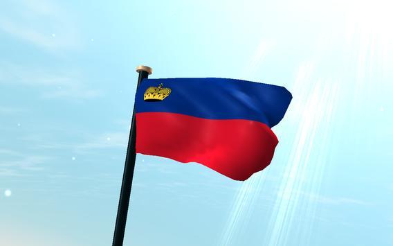 Liechtenstein Flag 3D Free apk screenshot
