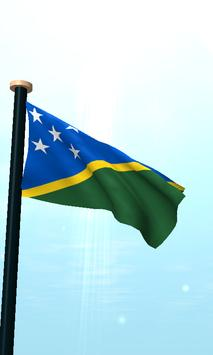 Solomon Islands Flag 3D Free apk screenshot