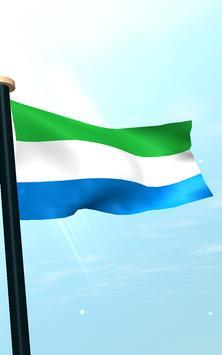 Sierra Leone Flag 3D Free apk screenshot