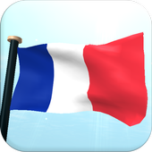 Mayotte Flag 3D Free Wallpaper icon