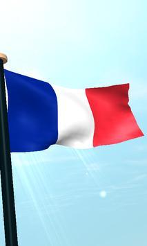 Mayotte Flag 3D Free Wallpaper apk screenshot