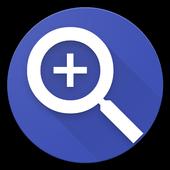 Magnifying Glass Flashlight - Lite icon