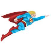 The Flappy Superhero icon