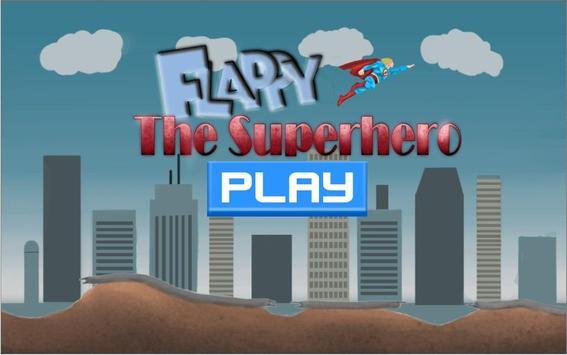 The Flappy Superhero poster