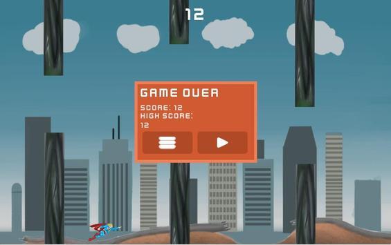 The Flappy Superhero apk screenshot