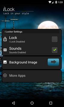 Shinning Moon 3D Locker Theme screenshot 1