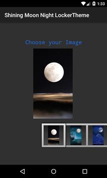 Shinning Moon 3D Locker Theme screenshot 3