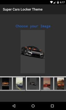 Super Cars 3D Locker Theme screenshot 3