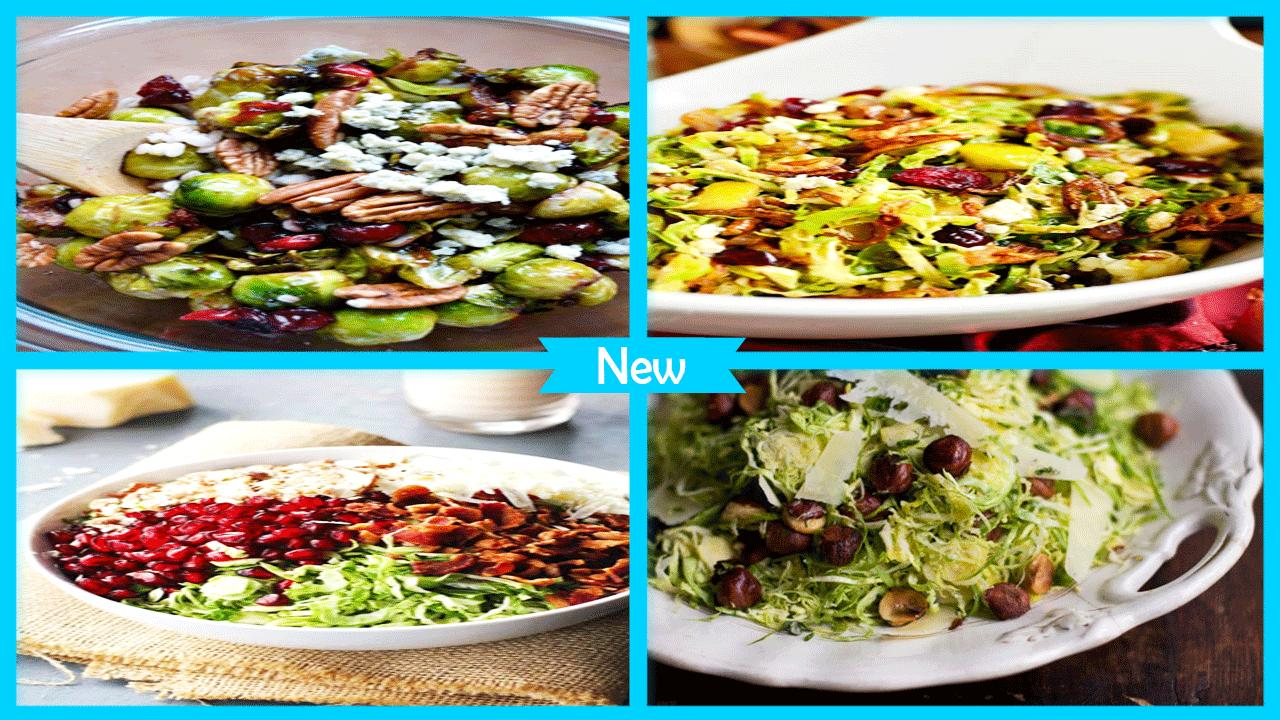 Tasty Brussels Sprout Salad Recipes poster