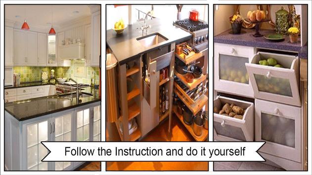 Useful Kitchen Storage Design poster