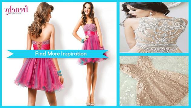 Beauty Homecoming Dress Ideas screenshot 4