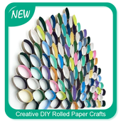 Creative DIY Rolled Paper Crafts icon
