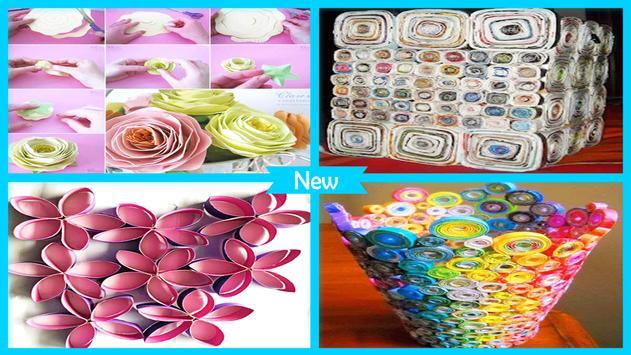 Creative DIY Rolled Paper Crafts screenshot 4