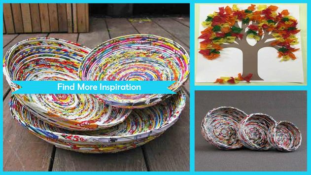 Creative DIY Rolled Paper Crafts poster
