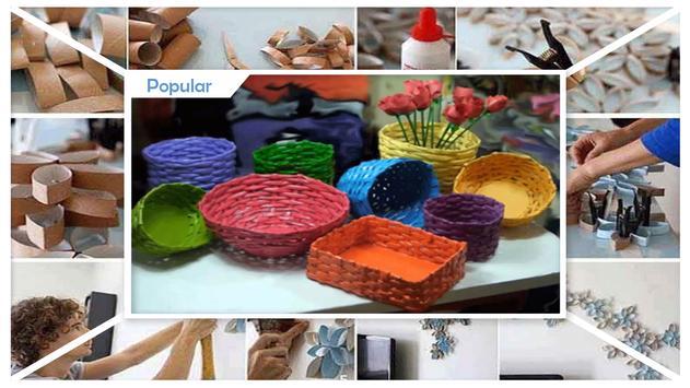 Creative DIY Rolled Paper Crafts apk screenshot
