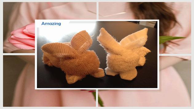 Cute DIY Giant Origami Bunnies screenshot 1