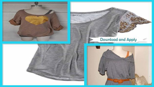 Easy DIY Glitter Polka Dot T-Shirt poster