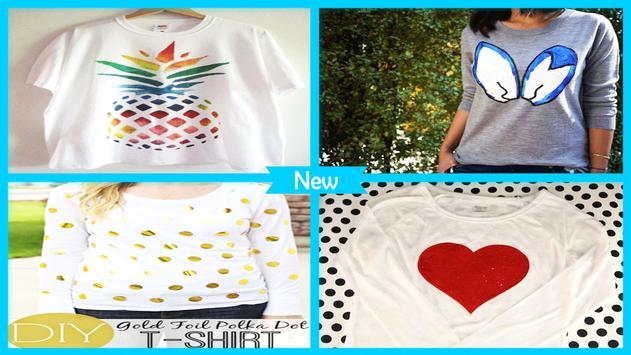 Easy DIY Glitter Polka Dot T-Shirt screenshot 3