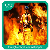Firefighter My Hero Wallpaper icon