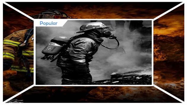 Firefighter My Hero Wallpaper screenshot 2