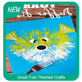 Great Fish Themed Crafts icon