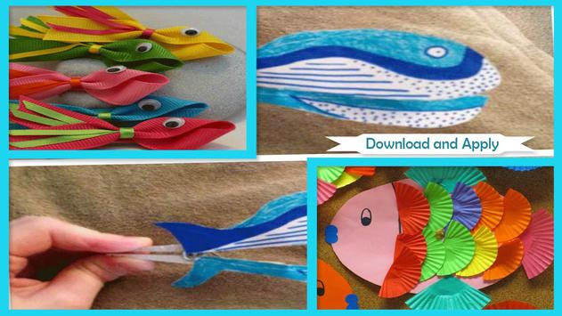 Great Fish Themed Crafts poster