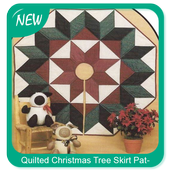 Quilted Christmas Tree Skirt Patterns icon