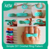 Simple DIY Crochet Ring Pattern icon