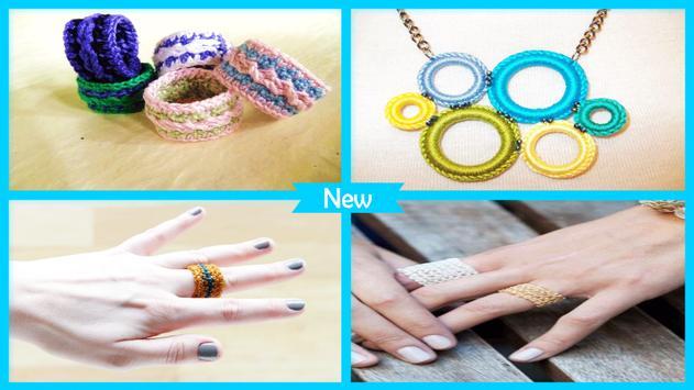 Simple DIY Crochet Ring Pattern screenshot 4