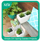 Simple DIY Spring Garden Projects icon