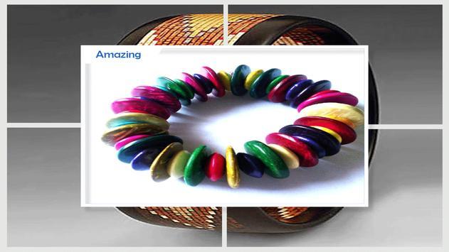 Stylish Wooden Bracelet Craft screenshot 2