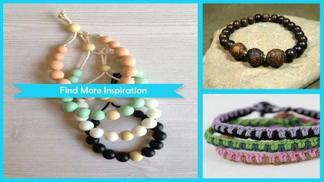 Stylish Wooden Bracelet Craft screenshot 4