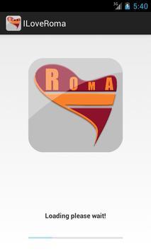 I Love Roma Calcio poster