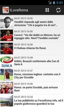 I Love Roma Calcio screenshot 1