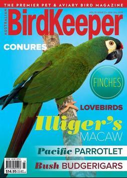 Australian Birdkeeper Magazine poster