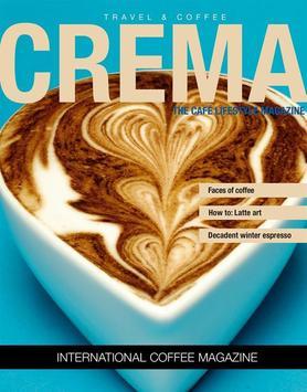 Crema Magazine poster