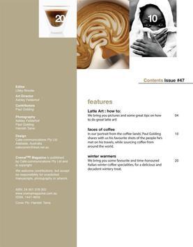 Crema Magazine screenshot 11