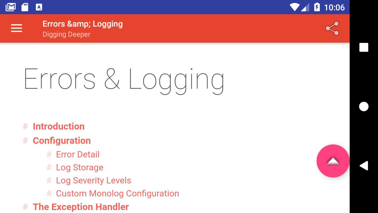 Laravel 5 5 Docs for Android - APK Download