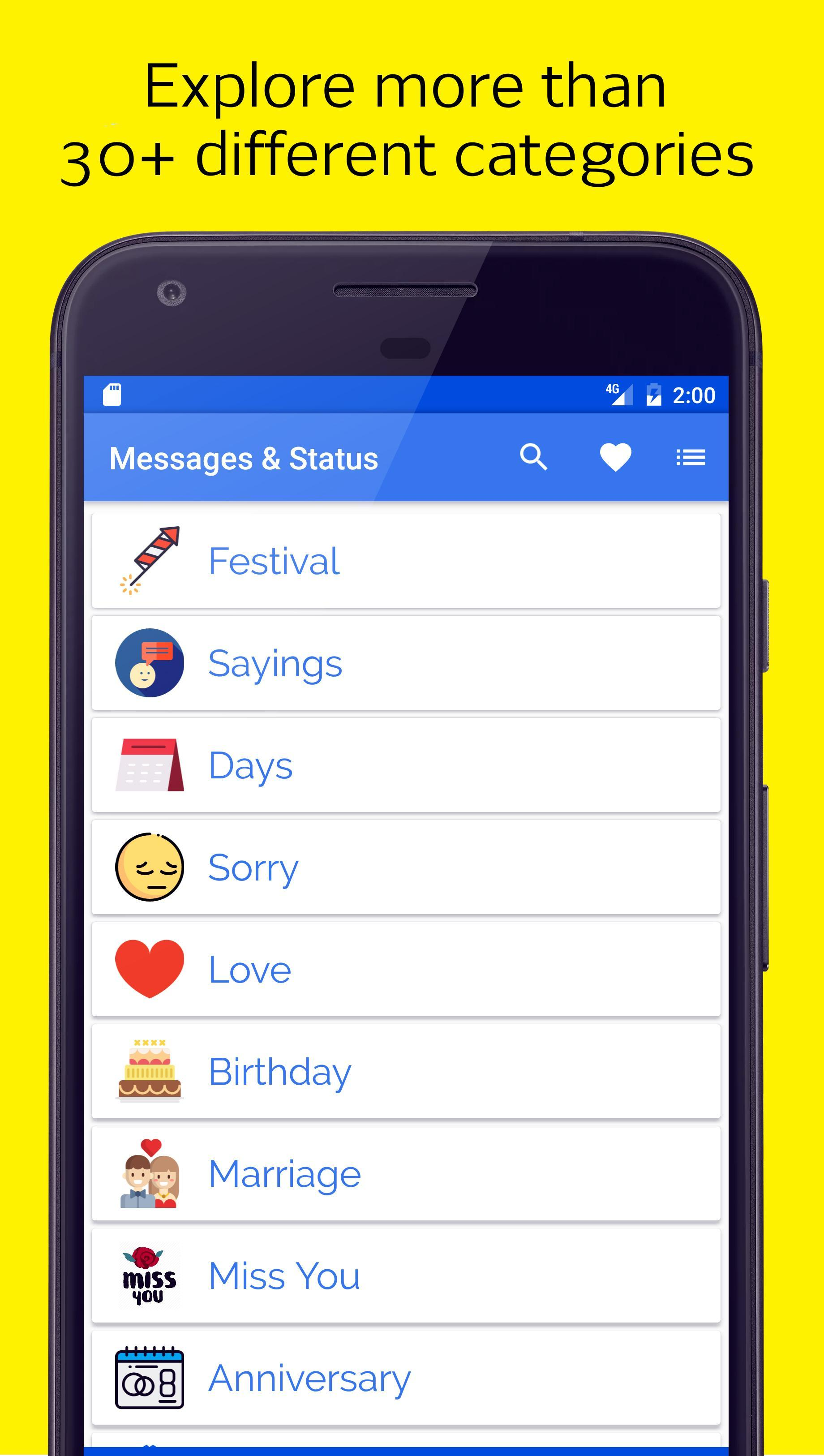 Messages Jokes Facebook Whatsapp Status For Android