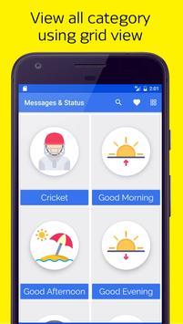 Messages, Jokes, Facebook & Whatsapp Status apk screenshot