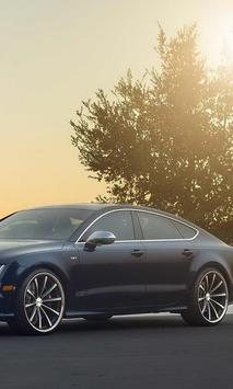 Jigsaw Puzzles Audi A7 New Cars poster