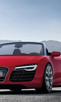 Jigsaw Puzzles Audi R8 Spyder New Cars poster