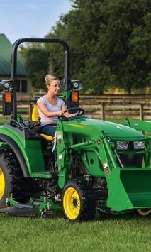 Jigsaw Puzzles New John Deere Tractors Best poster
