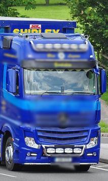 Super Jigsaw Puzzles Mercedes New Trucks apk screenshot