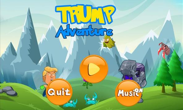 Super Trump Jump Adventure poster